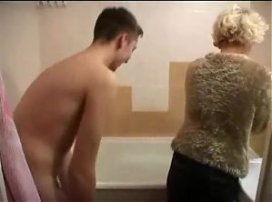 NMLN Mom Loves Sons Tongue And Loves Sons Cum !