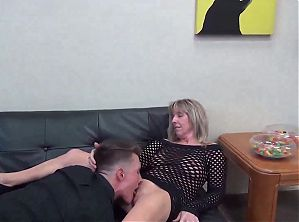 Old Milf Stepmoms Teaching Amateur Stepson Sex