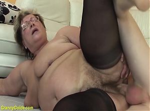 ugly bbw grandma fucked by stepson