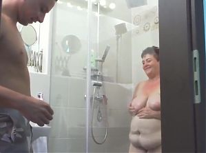 mature bbw mother rosa pleasing lucky son fetish celebrity