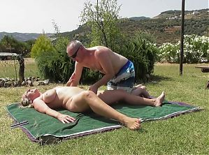 Dirty old and young family sex with fisting and anal