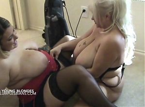 Older Mom with young busty daughter-in-law
