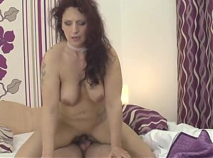 fat ass mom sucks and fucks young guy