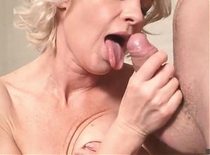 Russian mommy Artemia and young hunter for mature cunts