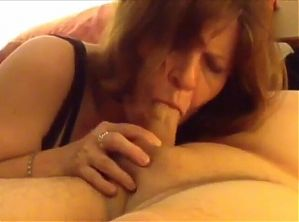 Mom ask her son again to massage her pussy with his dick
