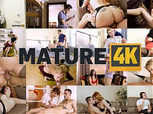MATURE4K. Mature has sex with her unstoppable stepson