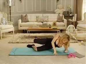 Tracy Anderson Pregnancy Project Month-6