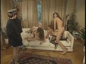 Vintage german dirty family hardcore dildo young older film