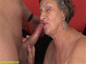 chubby granny fucked by stepgrandson