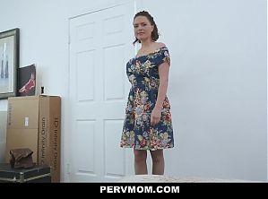 Busty Stepmom Krissy Lynn Takes Her Stepsons Hot Load
